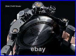 52MM Invicta Reserve VENOM SAMURAI DRAGON Swiss Quartz Black & Rose Gold Watch