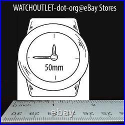 ARAGON SilverJet 50mm Skeleton Black Dial Gold & Silver AUTOMATIC Watch A232GLD