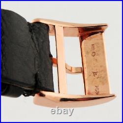 A. Lange & Sohne Lange 1 Black Dial 18K Rose Gold 38.5mm Ref. 101.031 Grand Date