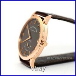 A. Lange & Sohne Saxonia Wristwatch 215.033 Rose Gold