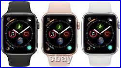 Apple Watch Series 4 40mm 44mm GPS + Cellular 4G LTE Gold Space Gray Silver