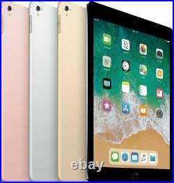 Apple iPad Pro 9.7 Wifi + Unlocked, Gray Silver Gold Rose 32GB 128GB 256GB