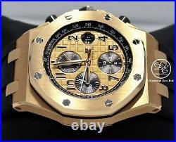 Audemars Piguet Royal Oak Offshore 18K Rose Gold 26470OR. OO. A002CR. 01 Mint