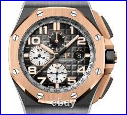 Audemars Piguet Royal Oak Offshore Ceramic Rose Gold Watch 26405NR. OO. A002CA. 01