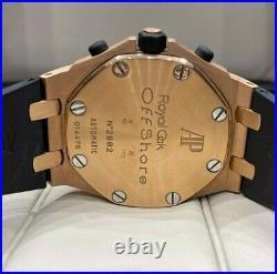 Audemars Piguet Royal Oak Rubberclad Chronograph 18K