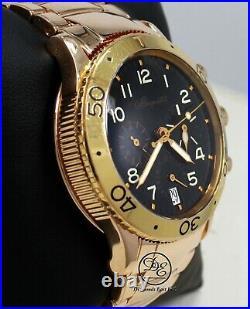 BREGUET Type XX Transatlantique Flyback 3820 18k Rose Gold Auto Chronograph B/P