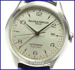 Baume & Mercier Clifton Dual Time 65730/M0A10112 Automatic Men's Watch 590372