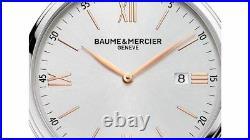 Baume and Mercier Classima Executives Men's Swiss Quartz Slim Watch MOA10144