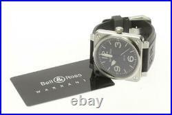 BellRoss Aviation BR01-92 black Dial Automatic Men's Watch 616622