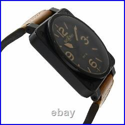Bell & Ross Aviation Heritage Steel Black PVD Automatic Mens Watch BR01-92
