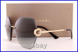 Brand New BVLGARI Sunglasses BV 6105B 2014/8G Pink Gold/Grey Gradient For Women