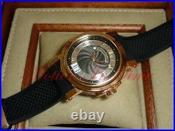 Breguet Marine Automatic Big Date 39mm Rose Gold Black Rubber Band 5817BR/Z2/5V8