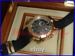 Breguet Marine Royale 18kt Rose Gold 45mm Black Dial Alarm Ref 5847BR/Z2/5ZV
