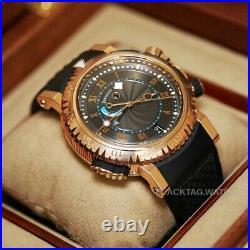 Breguet Marine Royale Alarm Wristwatch 5847BR/Z2/5ZV Rose Gold