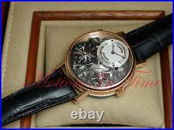 Breguet Tradition GMT Manual Wind 40mm 18kt Rose Gold Skeleton 7067BR/G1/9W6
