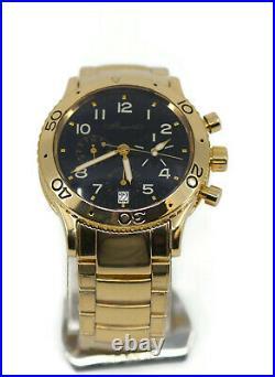 Breguet Type XX Transatlantique Chronograph 18K Yellow Gold Watch 3820