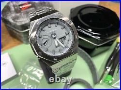 Casio G-Shock GA-2110ET-8AER Steel Casioak GA-2100 Series AP Royal Oak Mod NEW