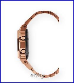 Casio G-Shock Metal Rose Gold Solar Powered Men's Watch GMWB5000GD-4
