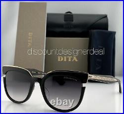 DITA MONTHRA Sunglasses DTS518-50-01 Black Rose Gold Frame Gray Gradient Lenses