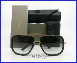 Dita MACH ONE DRX-2030-L Matte Blk-Rose Gold Flash Lenses Titanium Sunglasses 59