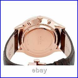Edox 40101 37RC GIR Men's Les Vauberts Gray Quartz Watch