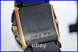 Franck Muller Conquistador Cortez Chrono 18k Rose Gold Watch Ref 10900 CC Dt Gpg