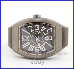Franck Muller Vanguard Titanium and 18k Rose Gold V45 SC DT TT BR. 5N Wristwatch