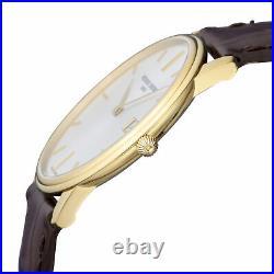 Frederique Constant Slimline Quartz Movement Grey Dial Men's Watch FC-220NV4S5