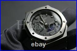 GA-2100-141 Casioak AP Royal Oak New Black Version Custom Made Black Case Cover