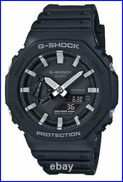 G-Shock GA-2100-1AER Black Casio Casioak Carbon Core Watch GA-2100-1A