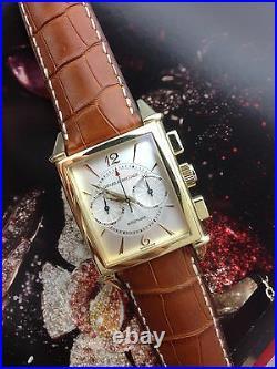 Girard Perregaux 18k Yellow Gold Vintage Chronograph Ref 2599 watch List $23,000