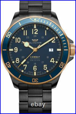 Glycine Men's Combat Sub 46 GL0279 46mm Automatic Stainless Steel Watch