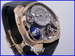 Greubel Forsey GMT Globe GF05 97805 Tourbillon 18k Rose Gold 43.5mm $630K LNIB