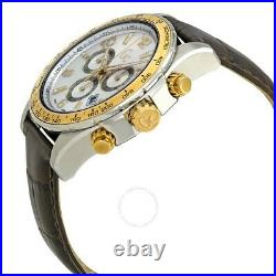Guess Collection GC Men's Techno Sport Chronograph Silver/Gold Watch X51005G1S
