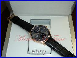 IWC Portuguese Automatic Chronograph Rose Gold 40.9mm Slate Dial IW3714-82