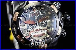 Invicta 52mm Reserve Venom Samurai Dragon Swiss Chrono Black Rose Gold SS Watch