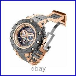 Invicta Men's Watch Subaqua Noma VII Gunmetal Shutter Cover Dial Bracelet 32951