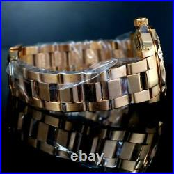 Invicta Pro Diver Gibeon Meteorite Swiss Automatic Rose Gold Plated 40mm #3 New