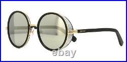 Jimmy Choo ANDIE/S black rose gold/grey mirror (J7Q/M3) Sunglasses