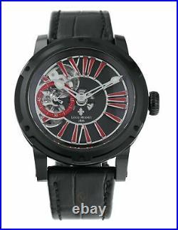 Louis Moinet Metropolis Black Red Limited Edition Men's 43.2mm Watch LM-45.10.52