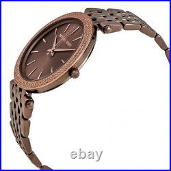 MICHAEL KORS MK3416 Darci Sable Color Dial Ladies Wrist Watch