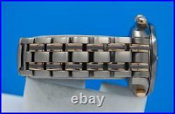 Mens Omega Seamaster 18K Rose Gold Titanium Automatic Chronograph watch 2296.80