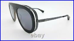 NEW DITA sunglasses Endurance 88 DTS107-55-02 Black Gold $500+ Flat Aviator 55mm