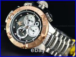 NEW Invicta Mens 50mm Sub Aqua Noma V Swiss Ronda Z60 Chronograph SS Watch