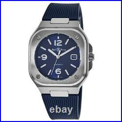 New Bell & Ross BR 05 (40 MM) Steel Blue Dial Men's Watch BR05A-BLU-ST/SRB