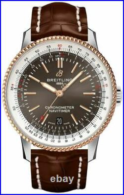 New Breitling Navitimer Limited Edition Grey Dial 41mm Mens Watch U173265A1M1P1