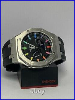 New Casio G-Shock GA-2100 Watch Casioak AP Offshore Rainbow limited edition