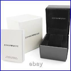 New Emporio Armani Ar1926 Ladies Two Tone Watch 2 Years Warranty Certificate