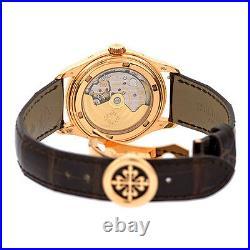 PATEK PHILIPPE 18K Rose Gold Annual Calendar Moonphase 5146 R Box Warrant 5146-R