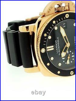 Panerai Submersible 42mm Ref. PAM00684 Automatic Date Exhibition 18k Rose Gold
